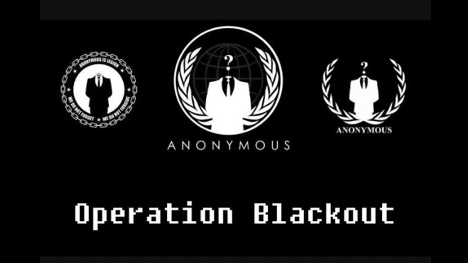 Anonymous: 'Operació Represàlia'