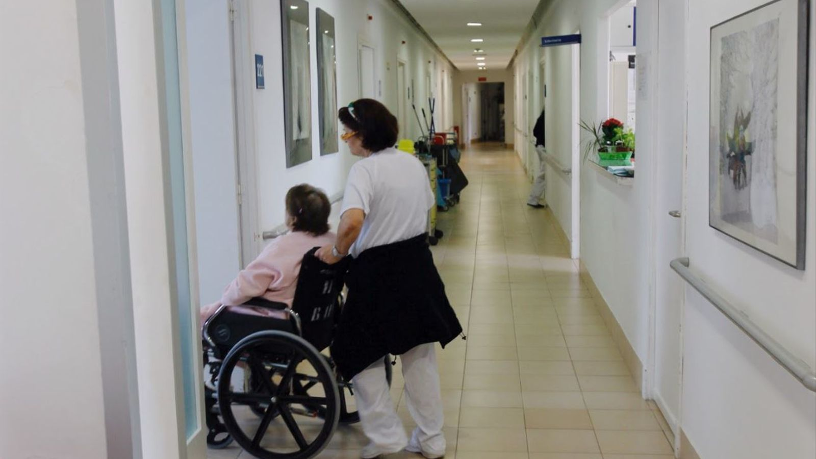 Imatge recurs d'una infermera treballant.