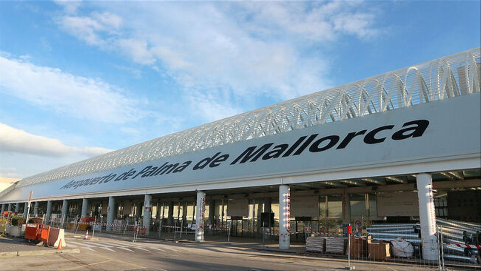 L'aeroport de Son Sant Joan.
