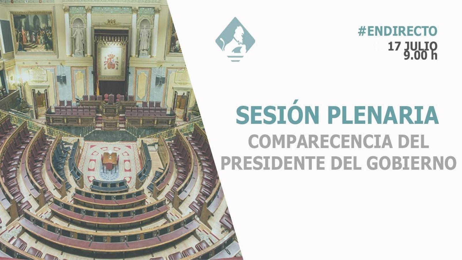 EN DIRECTE: Sánchez compareix al Congrés