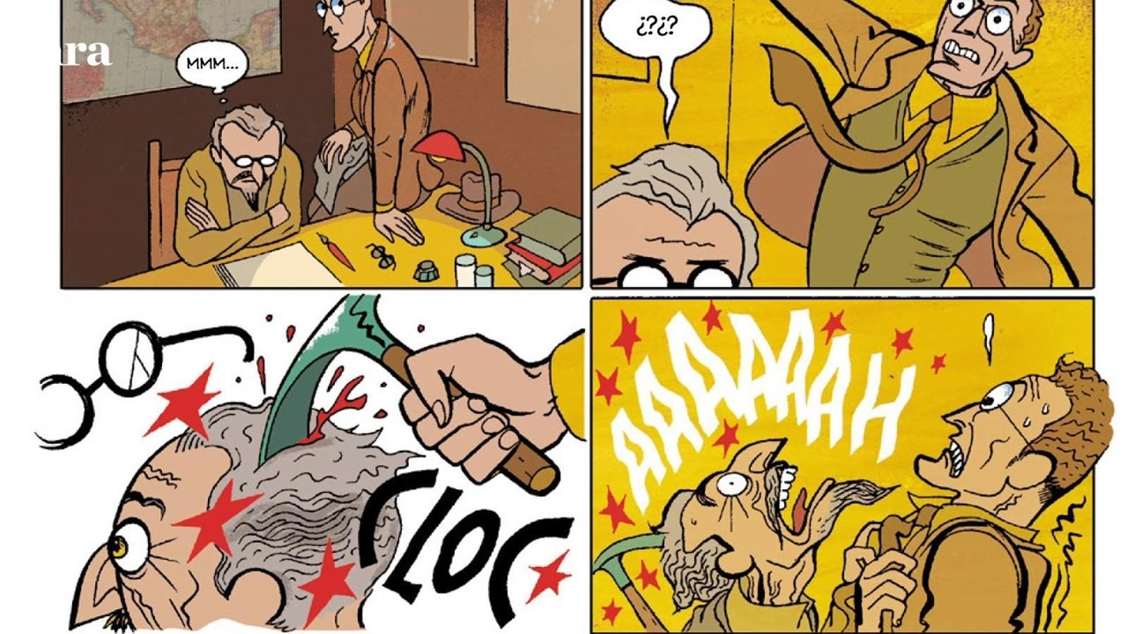 Còmic 'Caritat del río' de Pep Brocal