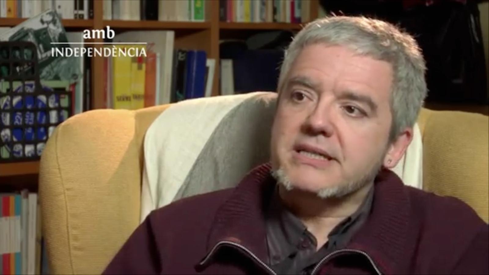 Màrius Serra: La independència és una condició indispensable per a la supervivència del català