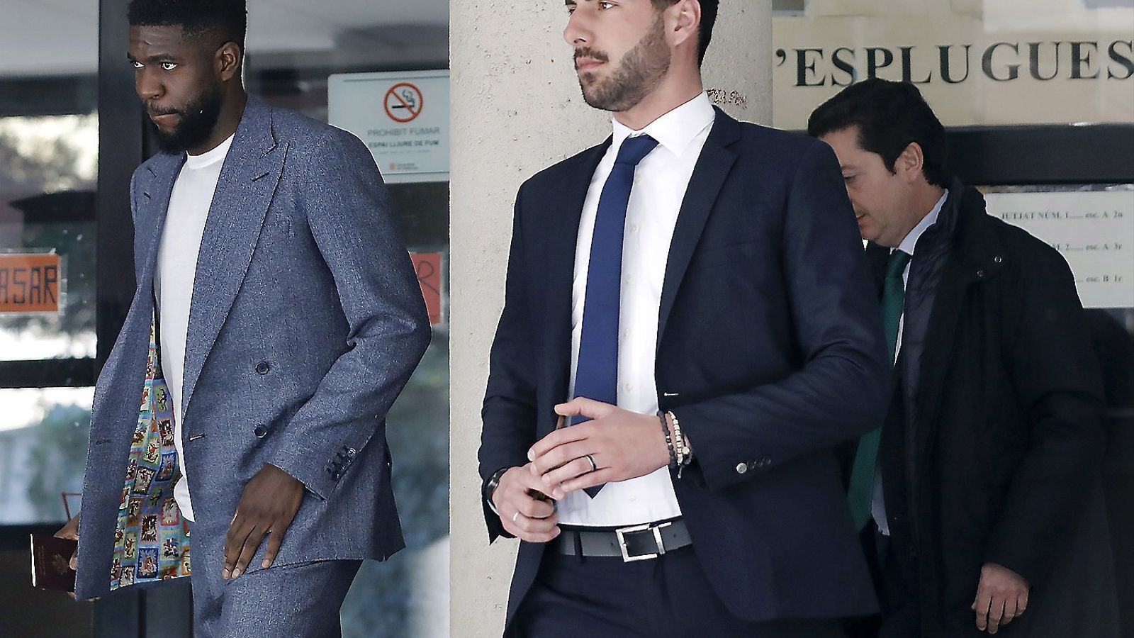 El Barça vol vendre Umtiti, però el francès no ho posarà fàcil.