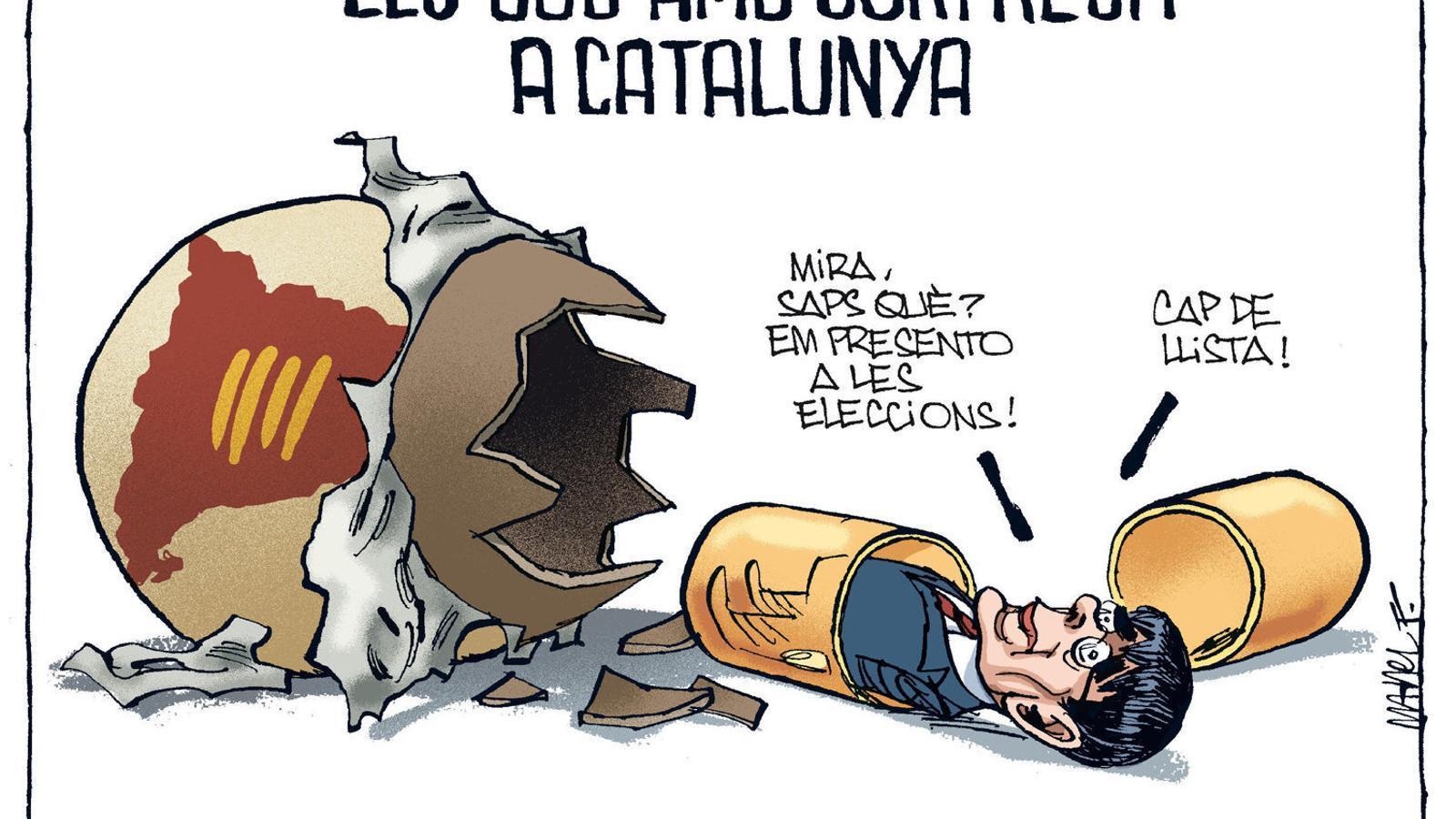 La vinyeta de Manel Fontdevila 27/12/2020