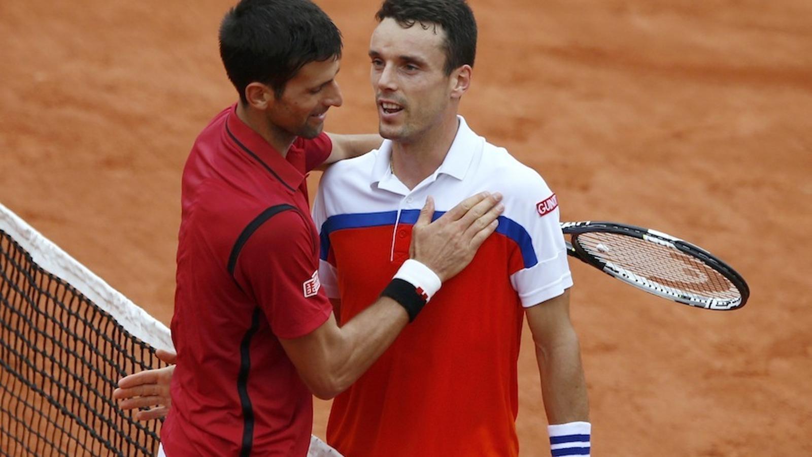 Bautista, Granollers i Ferrer s'acomiaden de Roland Garros