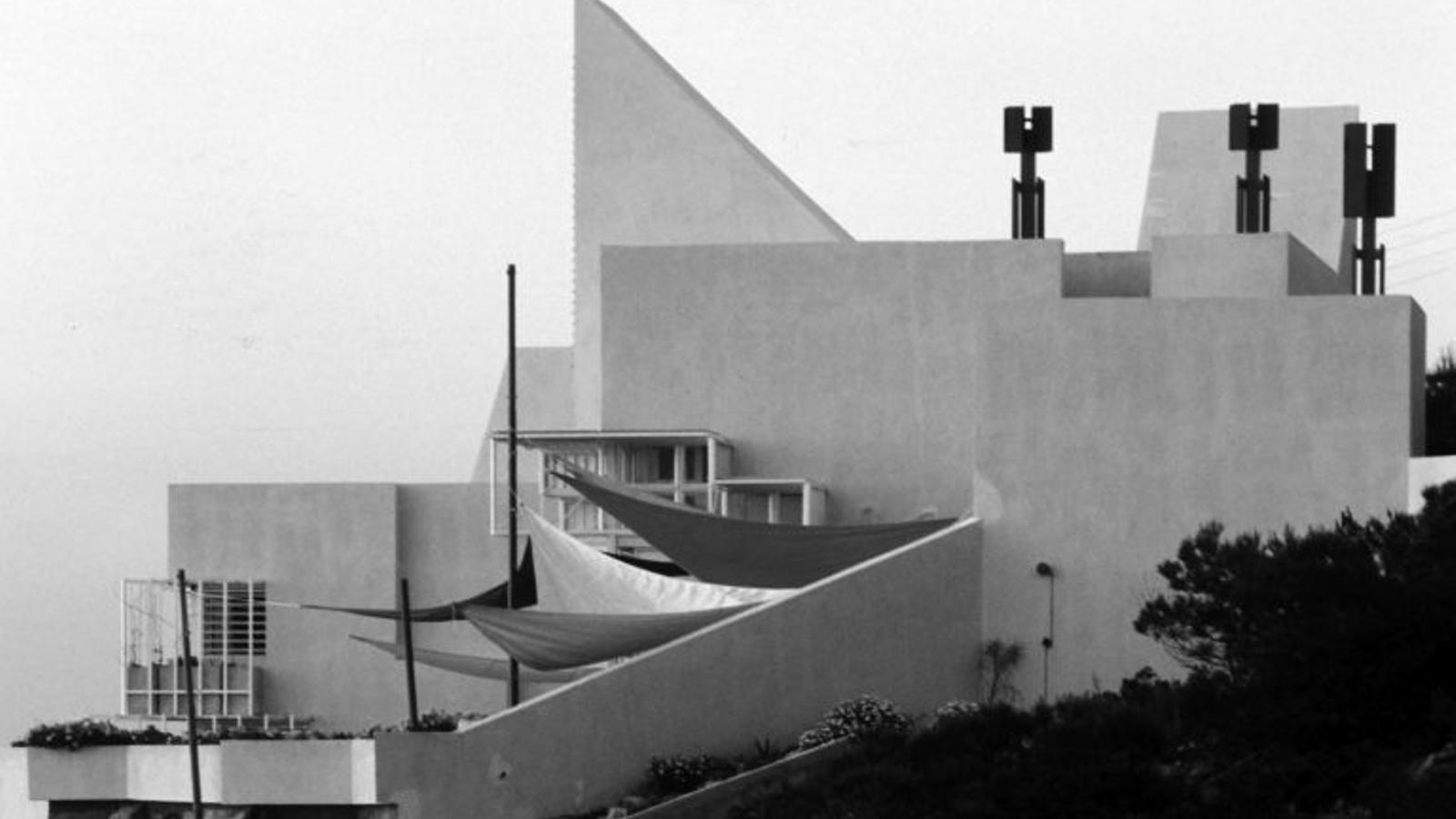 La casa Van der Driesche en una fotografia d'època / JAMLET