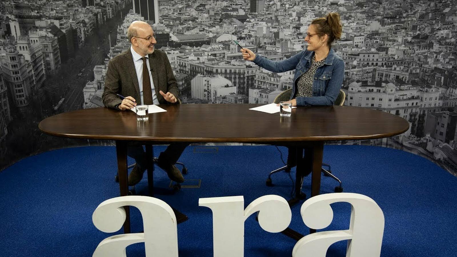 Entrevista d'Antoni Bassas a Mireia Vehí