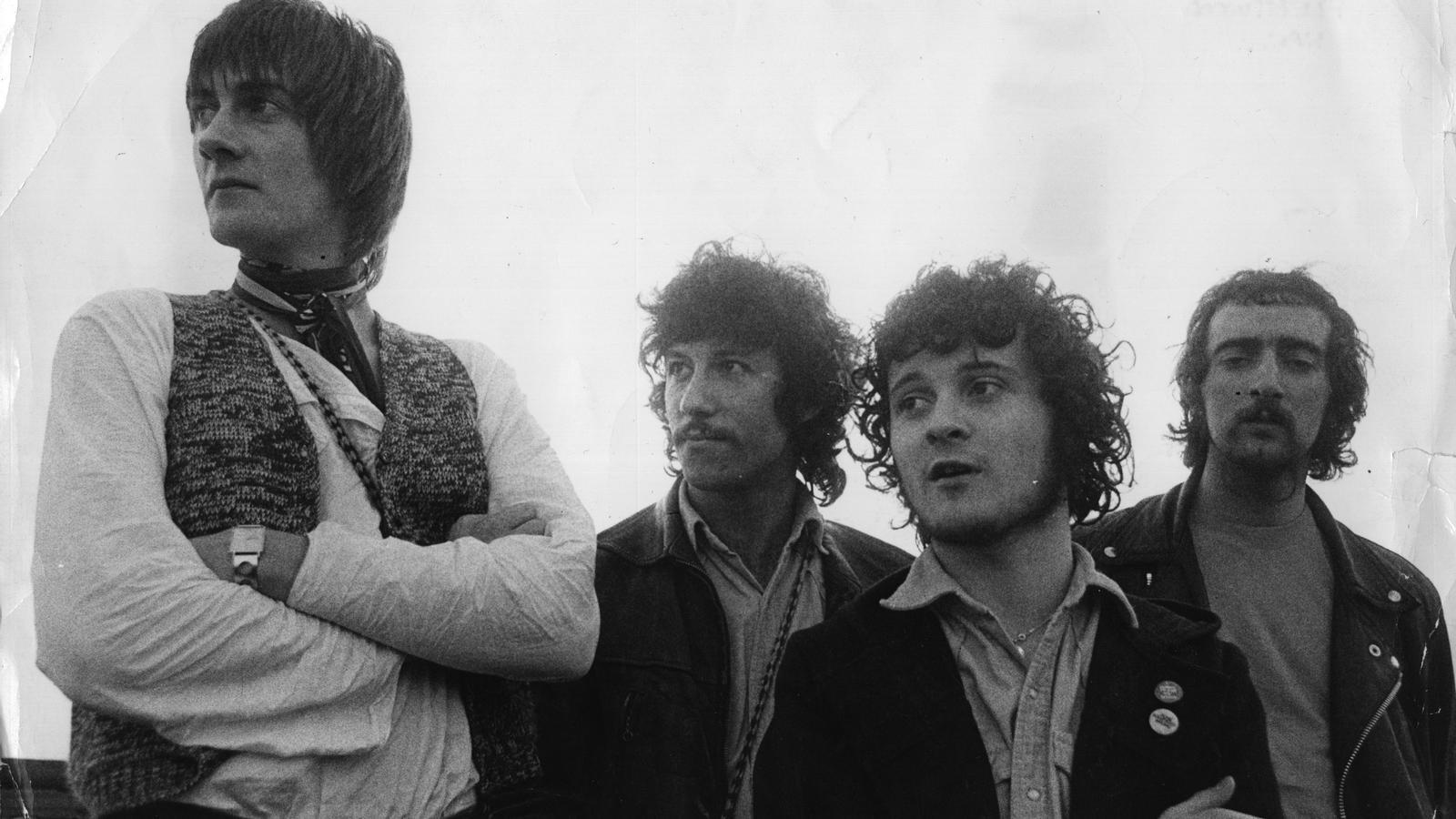 D'esquerra a dreta: Mick Fleetwood, Peter Green, Jeremy Spencer i John McVie el 1968