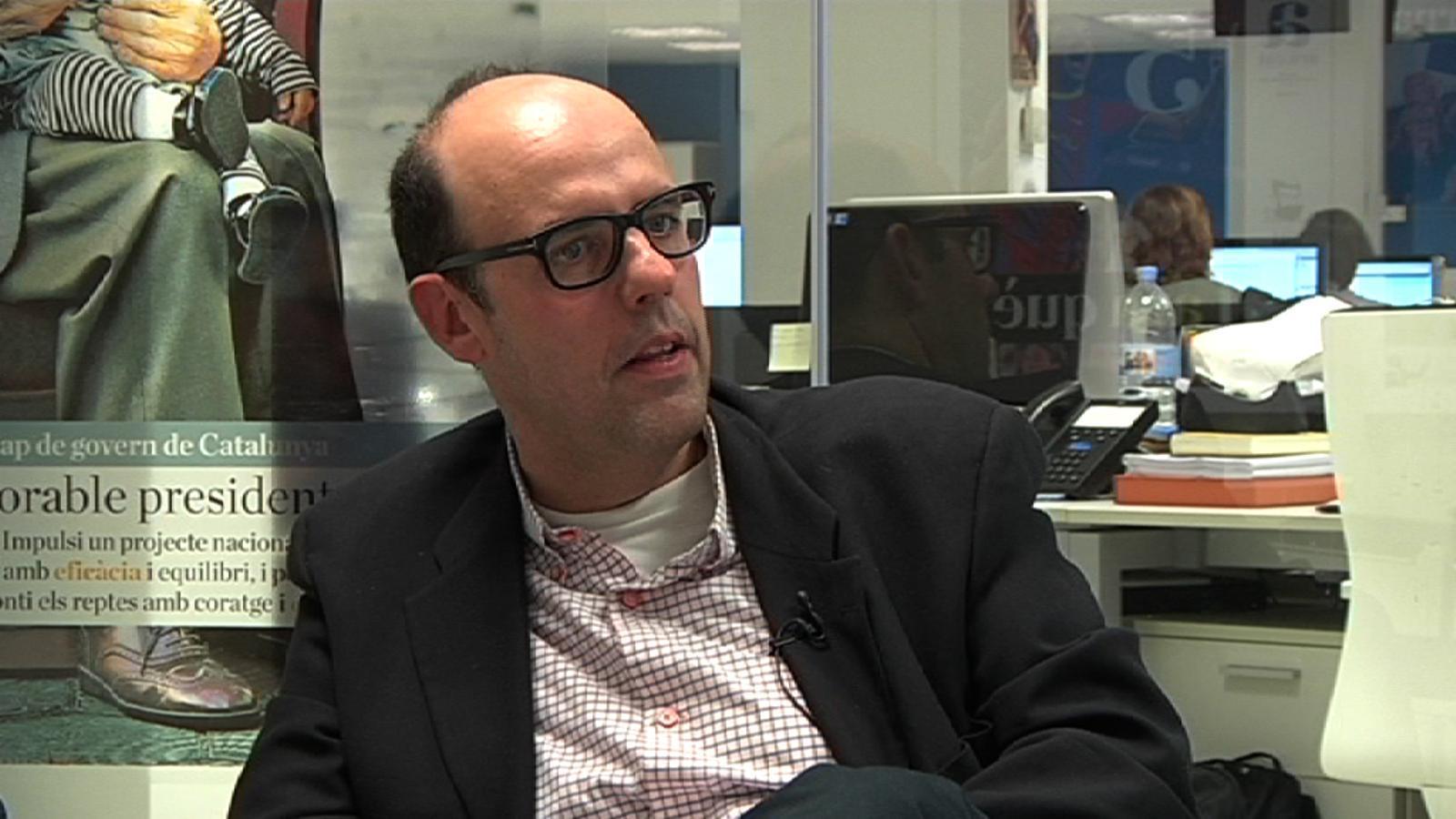 Albert Om, sobre 'El món a RAC1': No saps què passarà, però et manté enganxat