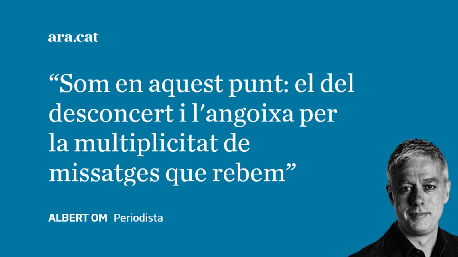 Carta a Jaume Padrós: 'Doctor, què ens passa?'