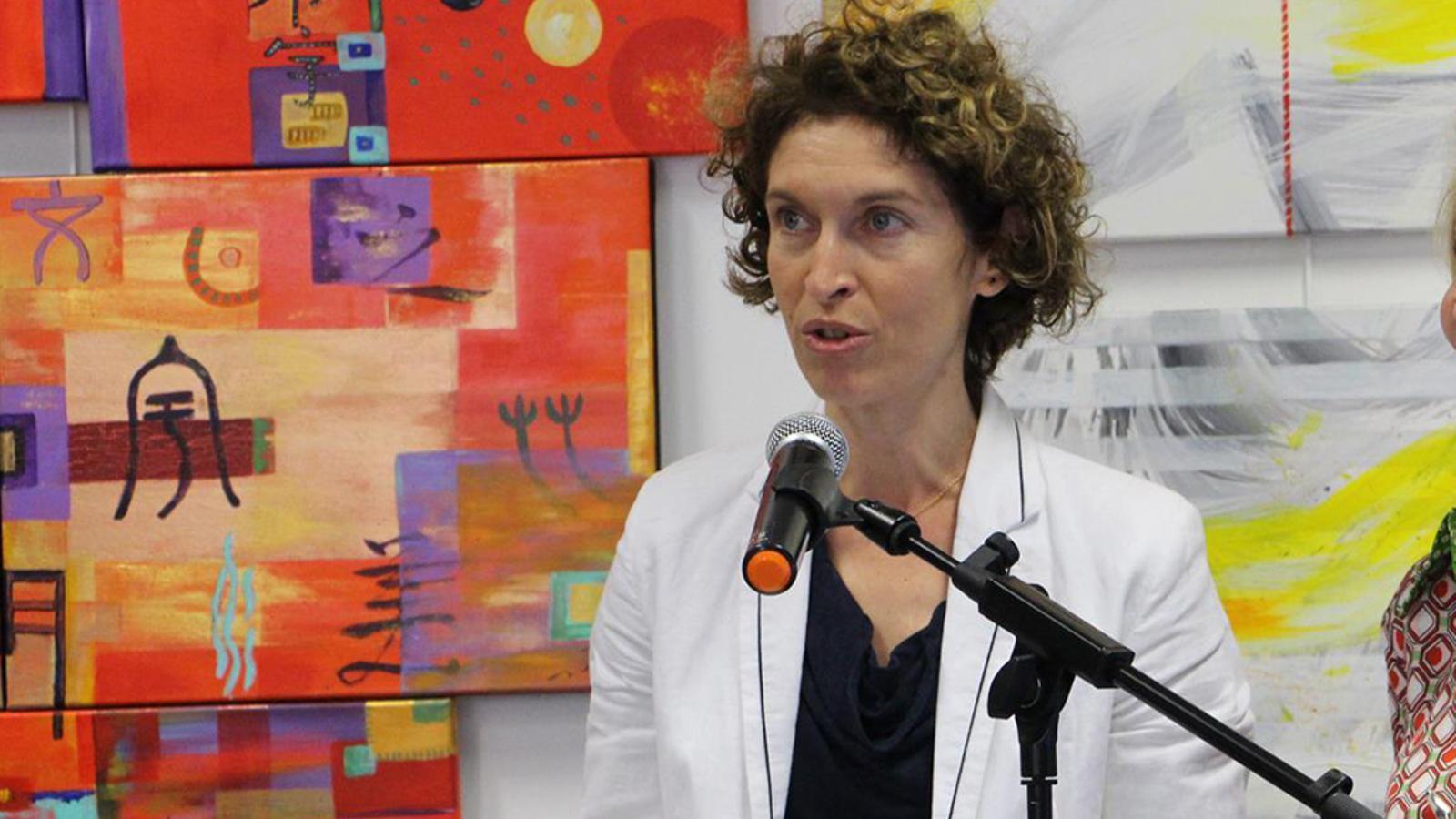 La ministra d'Afers Exteriors, Maria Ubach. / L. M. (ANA)