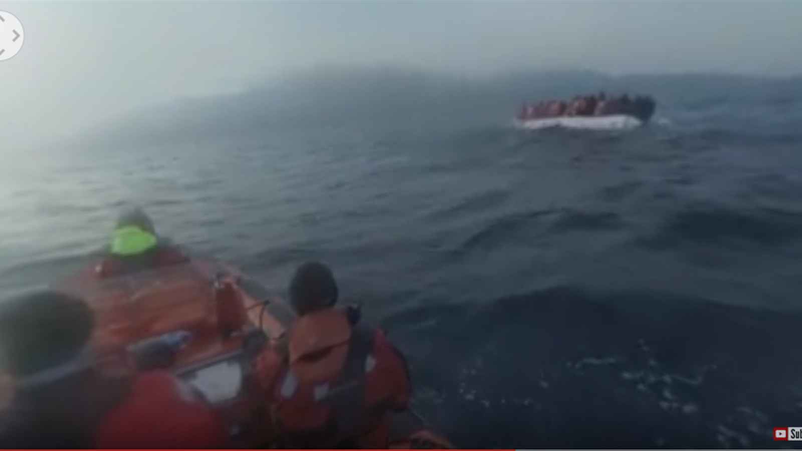 Vídeo de 360° en un campament de migrants a Grècia
