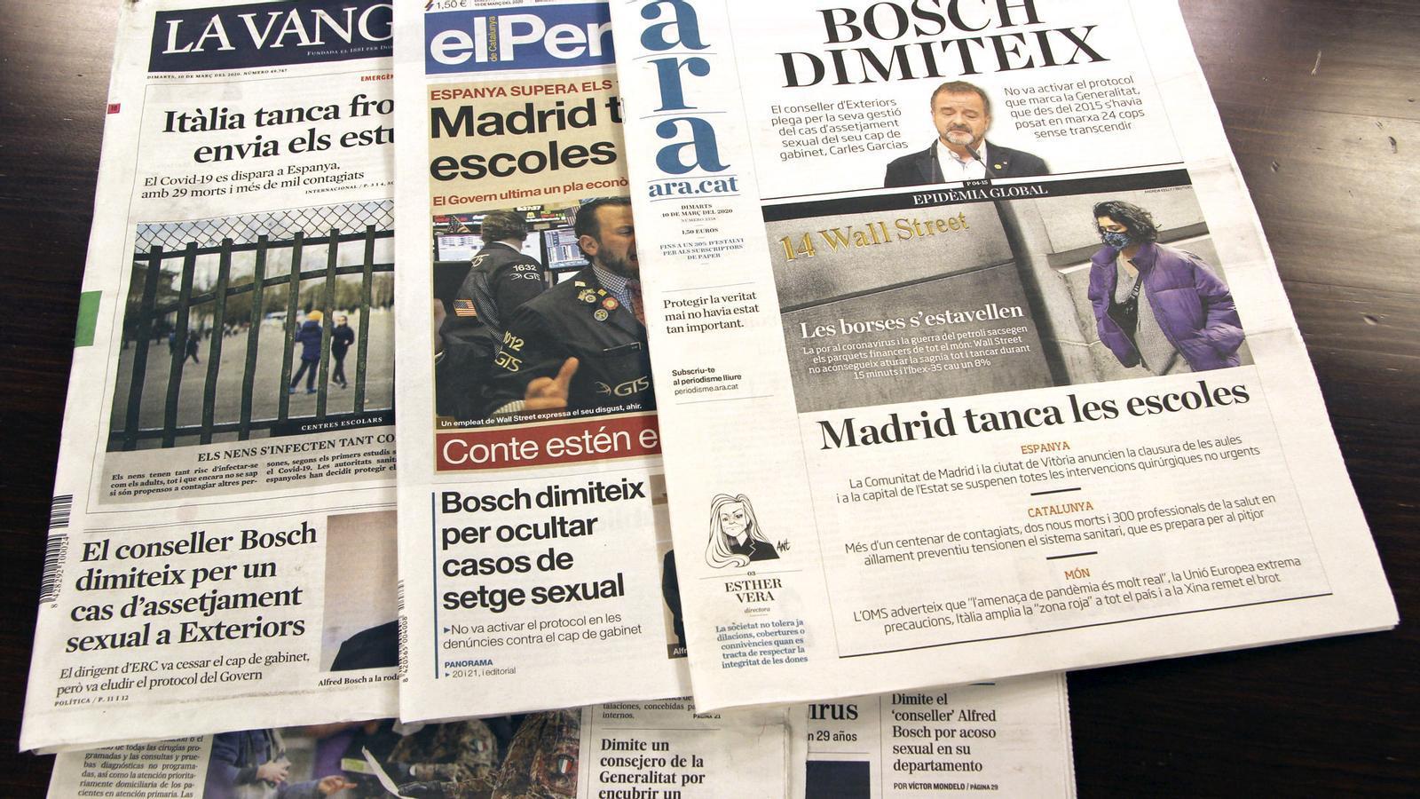 L'anàlisi d'Antoni Bassas: 'Les lliçons de la dimissió del conseller Bosch'