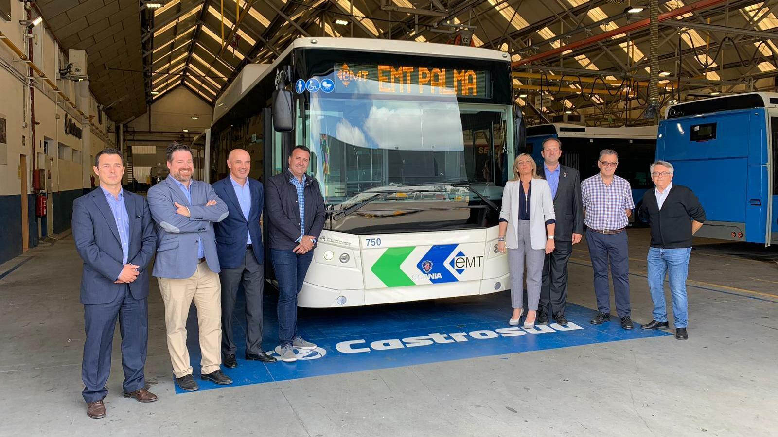 L'EMT incorporarà els primers 28 nous autobusos després de l'estiu