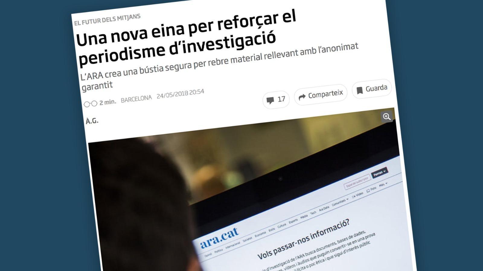 L'anàlisi d'Antoni Bassas: 'El cas Arrufat i la confiança en l'ARA'