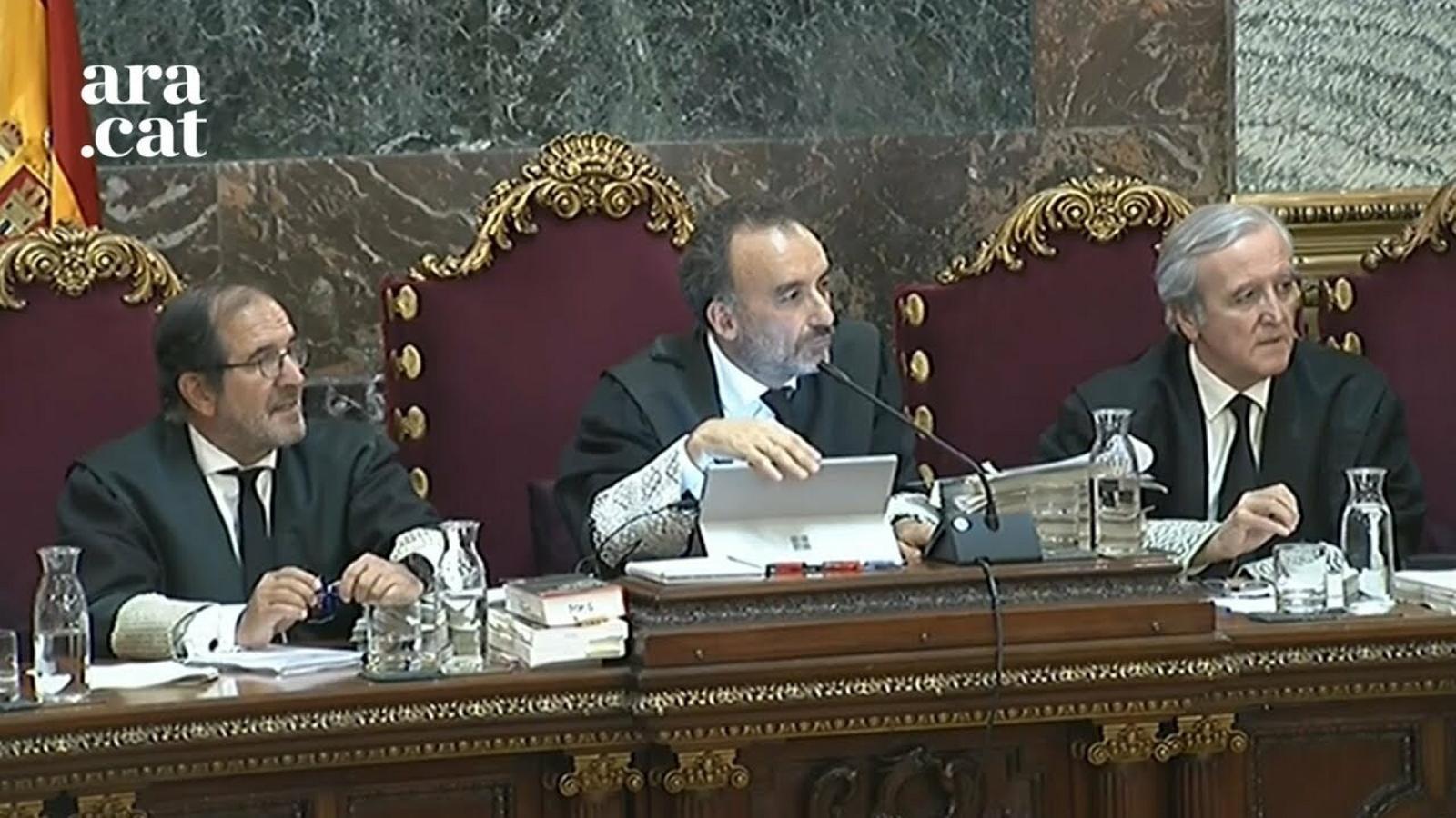 Marchena accepta la impugnació de la declaració de l'agent de la Guàrdia Civil