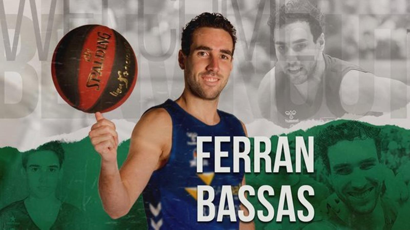 Ferran Bassas torna al Joventut de Badalona / JOVENTUT
