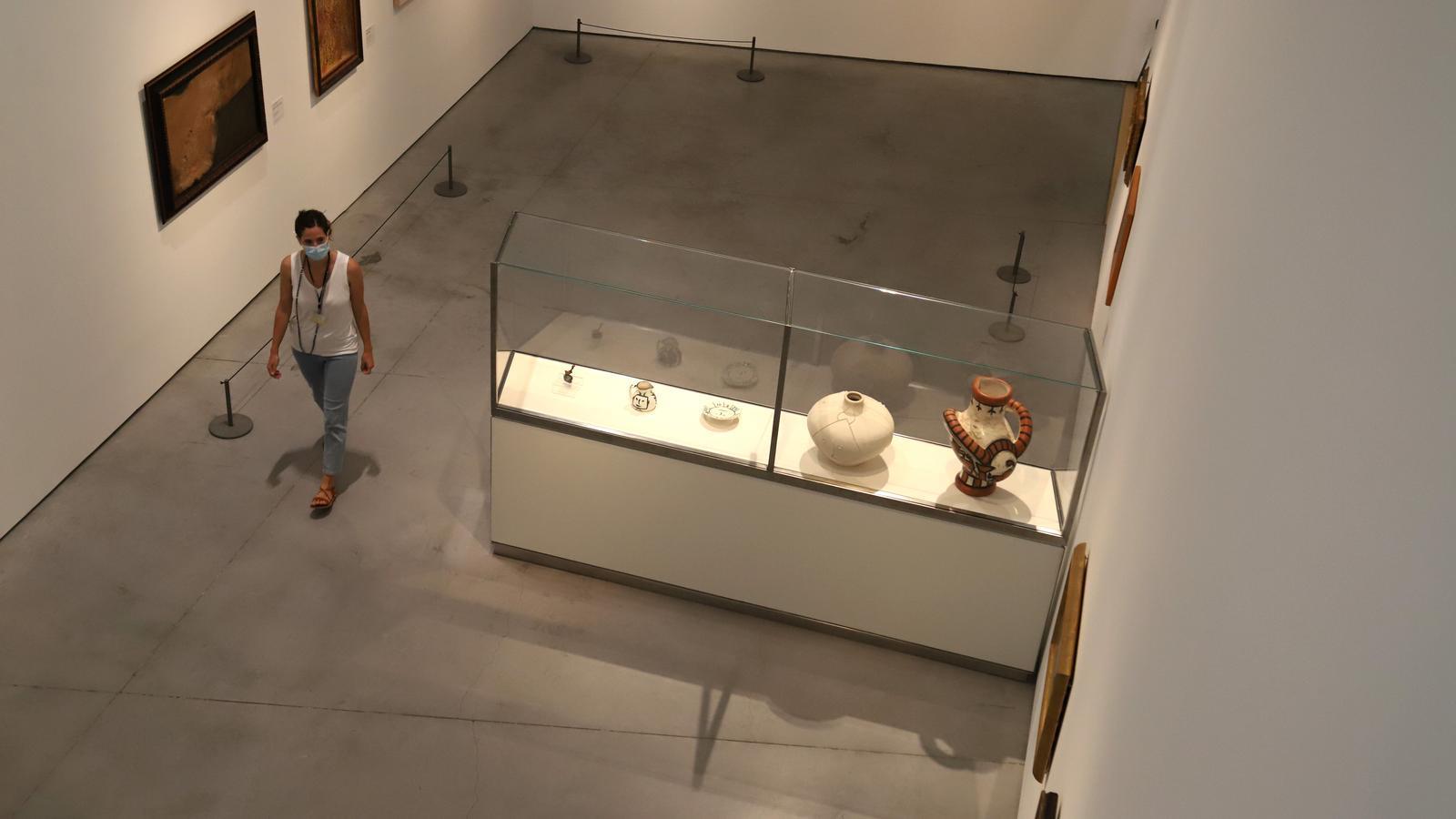 L'exposició permanent d'Es Baluard Museu.