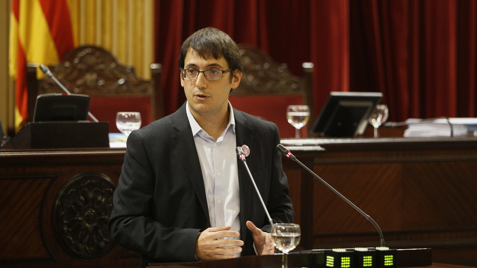 El conseller de Treball, Iago Negueruela