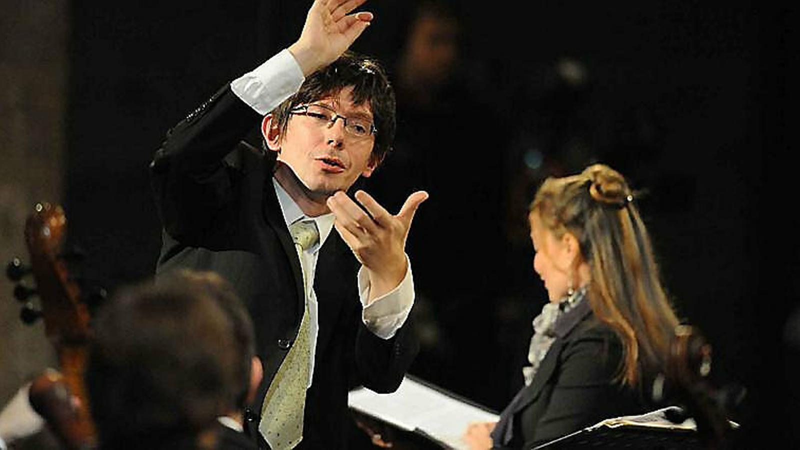 El txec Václav Luks dirigirà el concert que obrirà el Bachcelona el 16 de juliol.