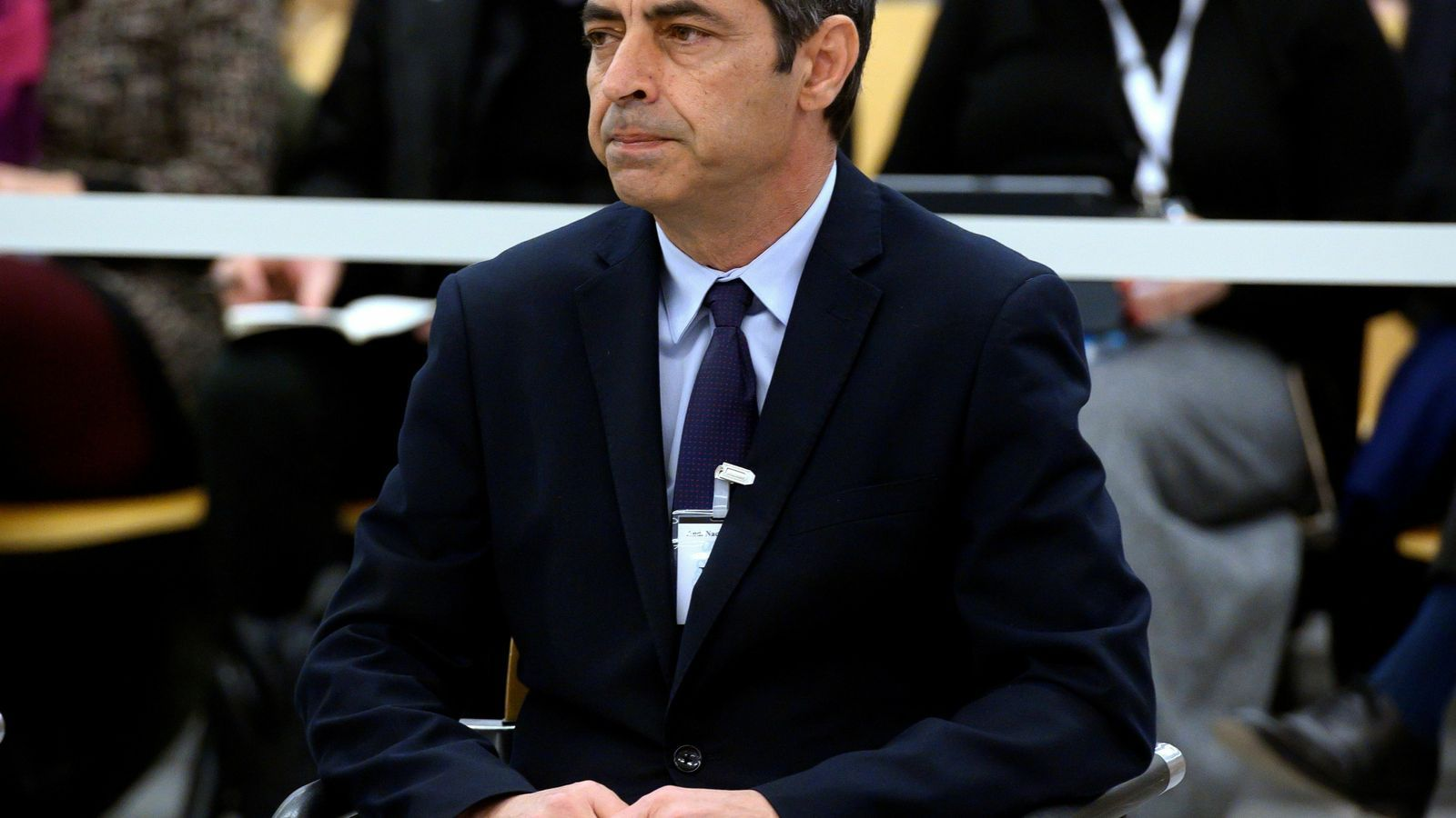 Trapero, a l'inici del judici a l'Audiència Nacional