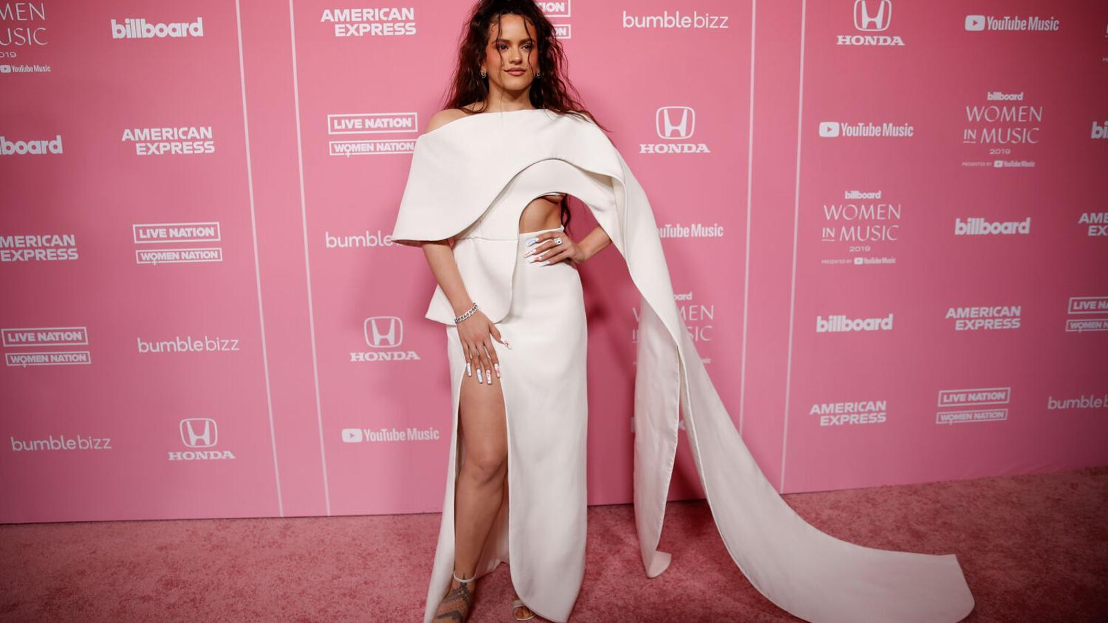 Rosalía als premis Billboard 2019.