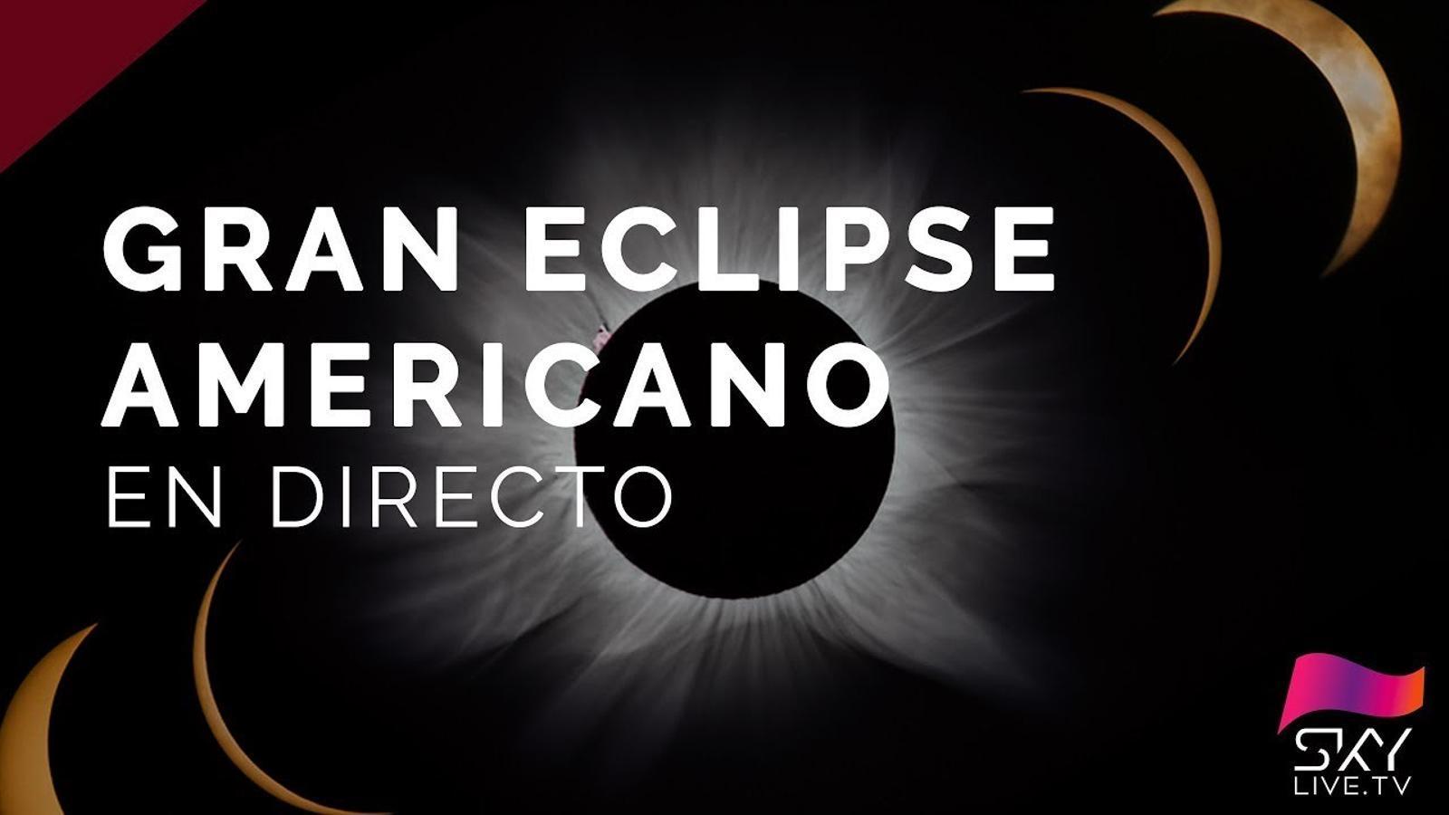 L'eclipsi solar, en directe
