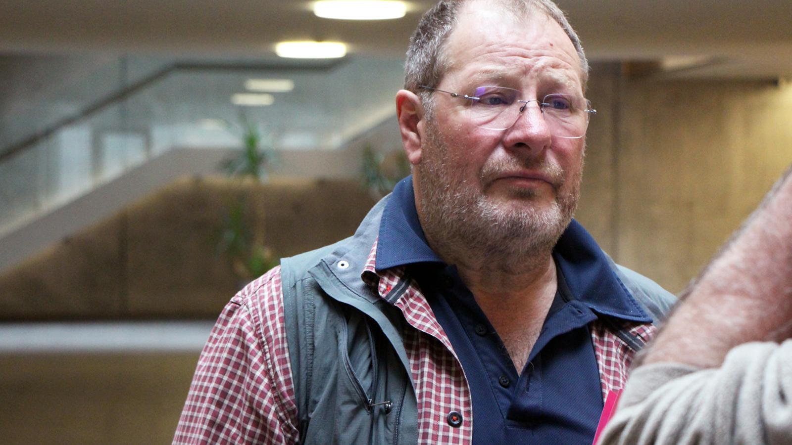 El conseller general del grup parlamentari socialdemòcrata, Jordi Font. / M. P.