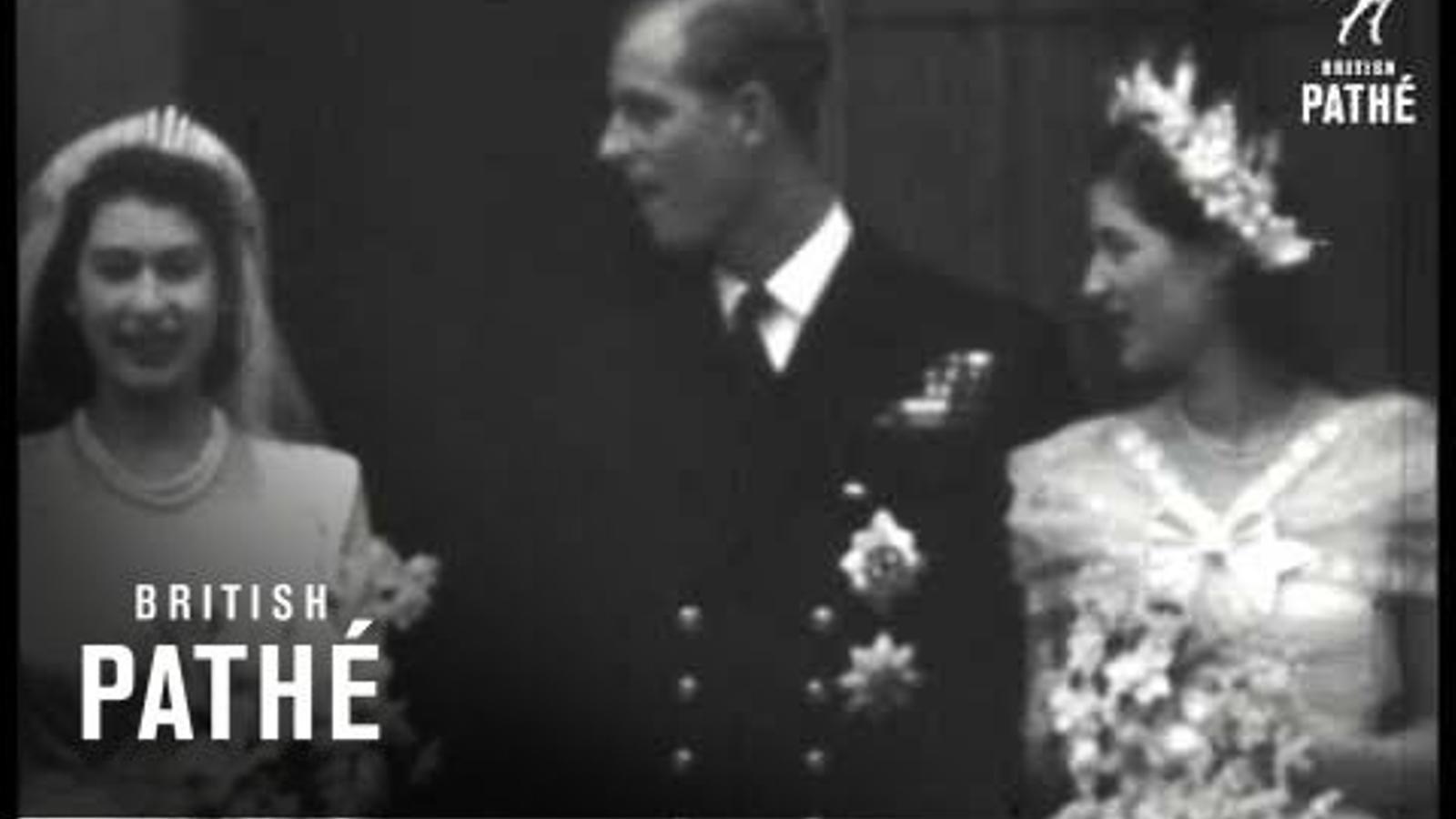 Boda reial entre la princesa Isabel i el príncep Felip
