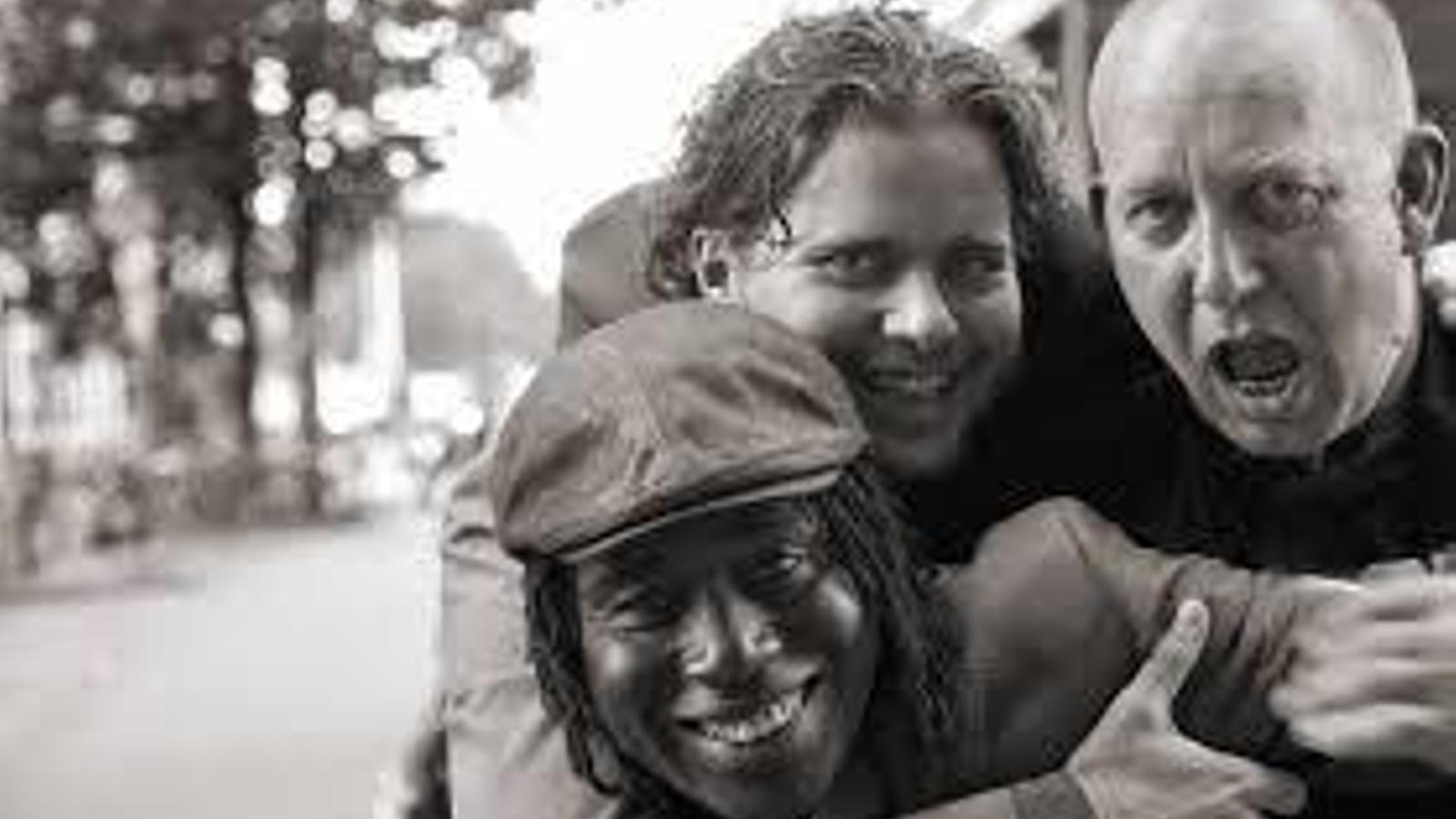 Els tres membres del trio que actuarà avui a l'Alternatilla.