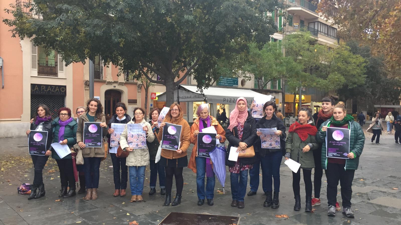 Presentació de la coordinadora Moviment Feminista de Mallorca.