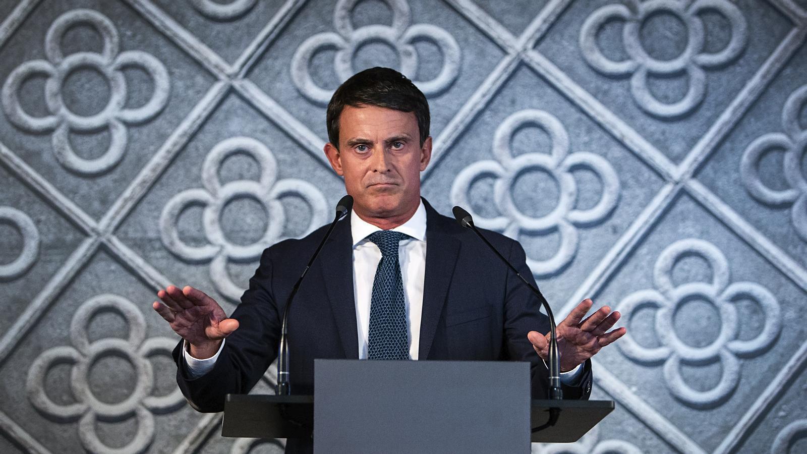 Operació Manuel Valls: així es va finançar la seva campanya