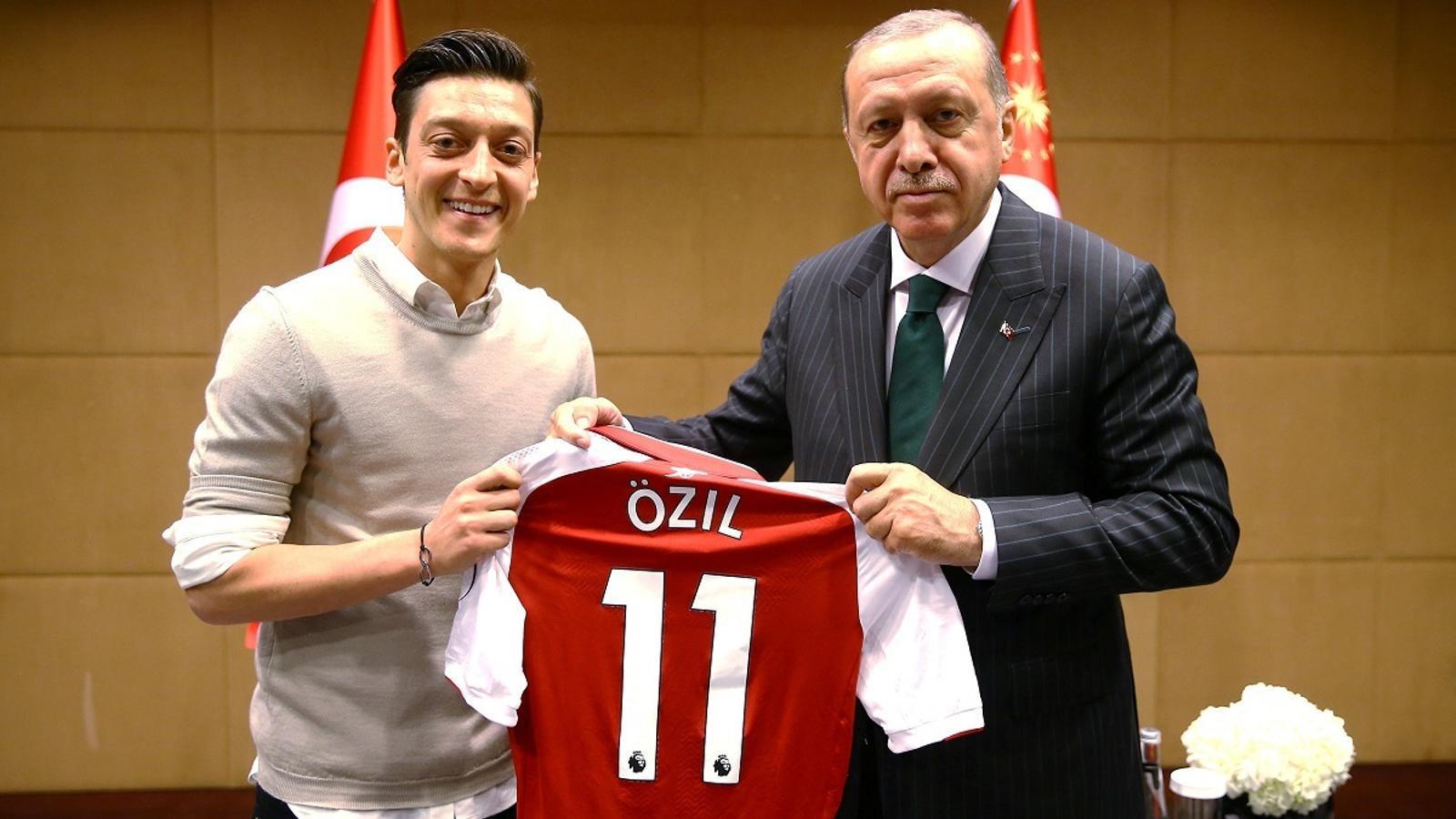 Özil, amb Erdogan