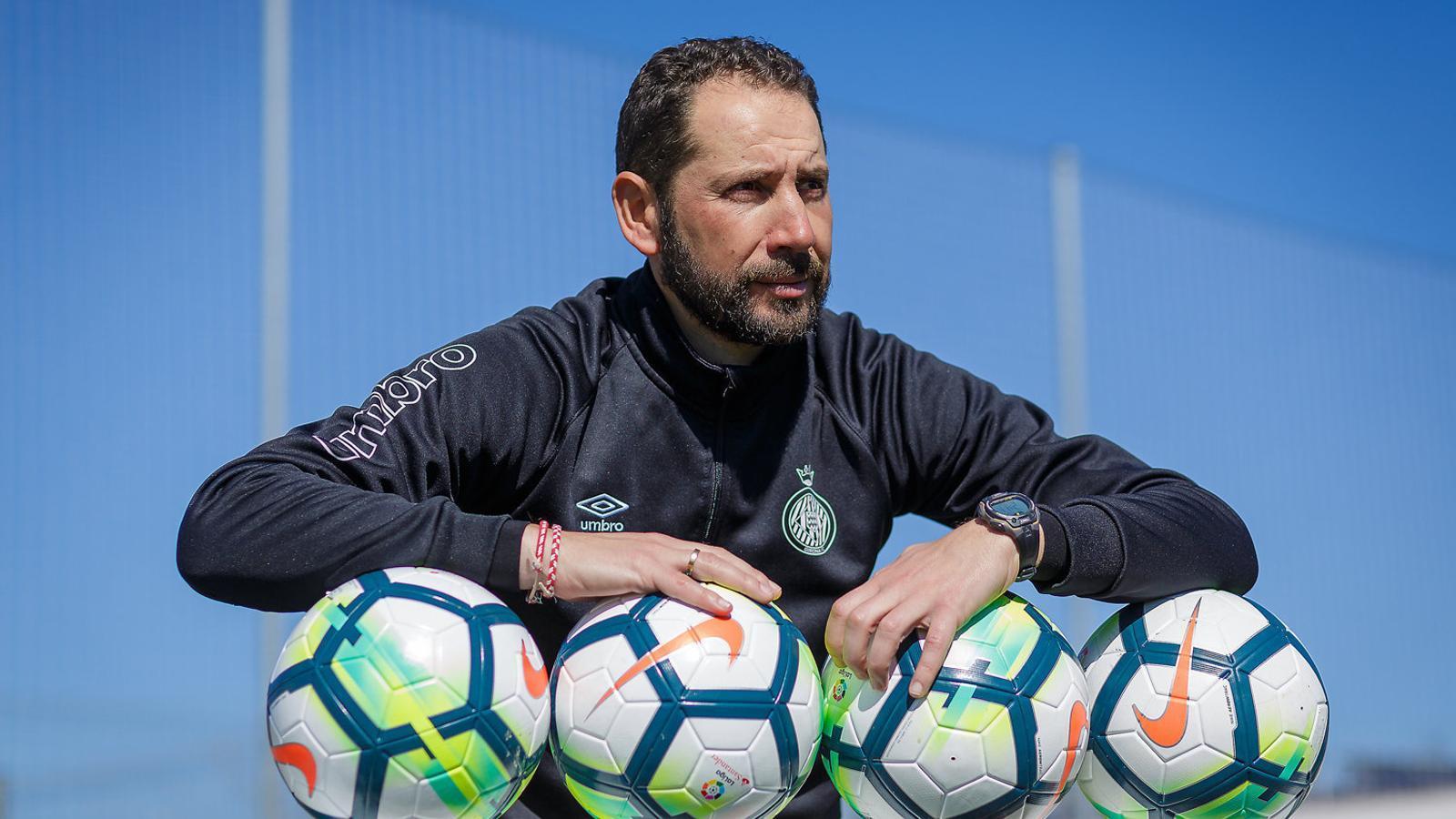 """Pablo Machín: """"Passa el temps, les dificultats creixen i ens seguim superant"""""""