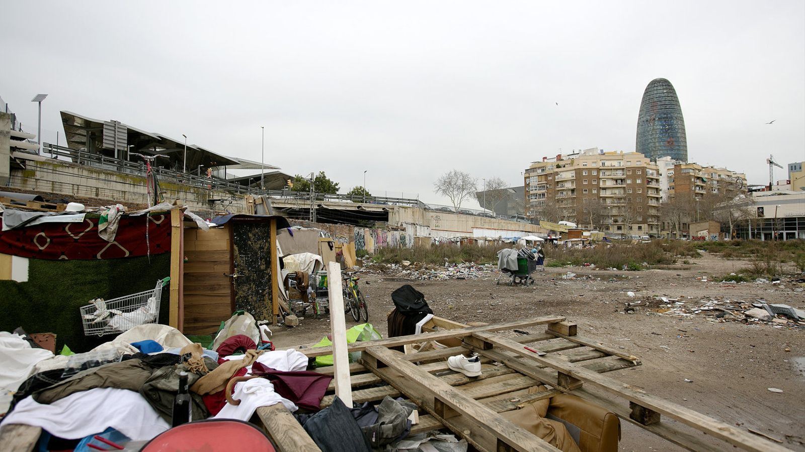 145 famílies amb menors viuen en assentaments