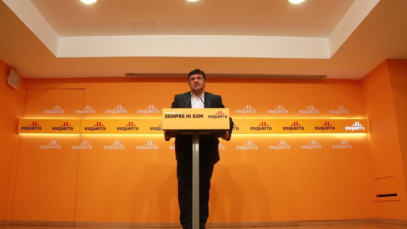 Un president interí Puigcercós va culpar del daltabaix el tomb del país  a la dreta, el càstig als partits de govern i la sensació que ERC ja és 'establishment'. Trajectòria independent Tot i que no es va afiliar a ERC fins al febrer, és regidor des  del 2005, ha estat cap de llista el 2007 i el 2011 i va esdevenir eurodiputat el 2009.
