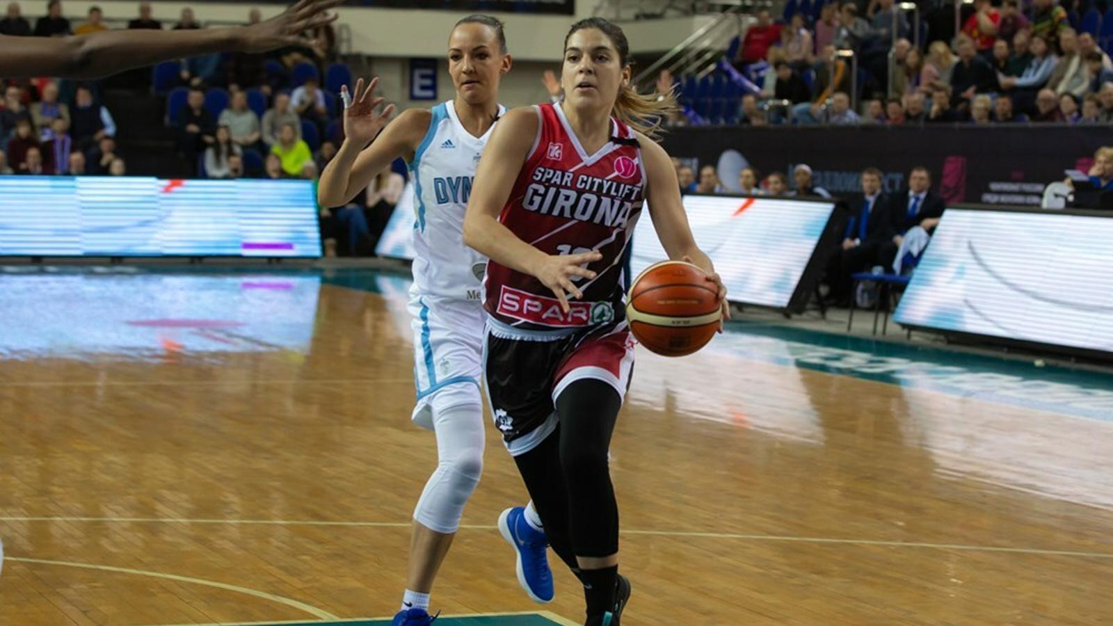 Marta Xargay, jugadora de l'Spar Citylift Girona