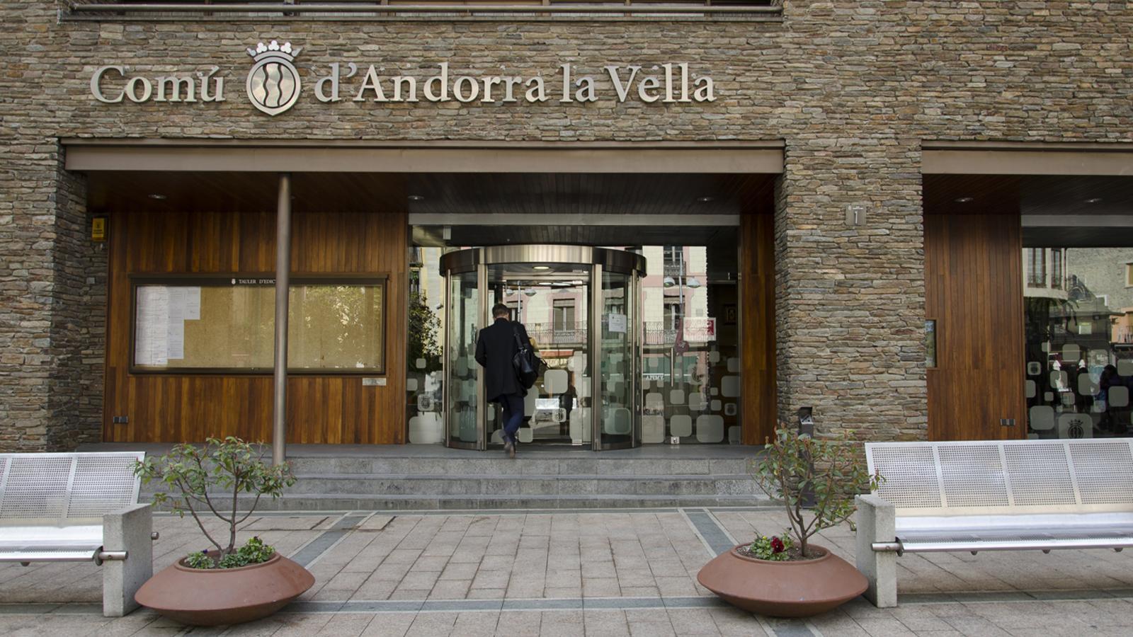 Edifici del comú d'Andorra la Vella. / ARXIU ANA