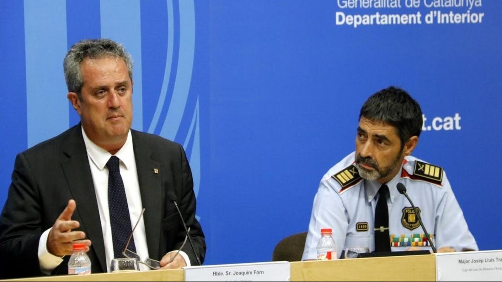 Forn i Trapero es neguen a acceptar la intervenció dels Mossos per part de l'Estat
