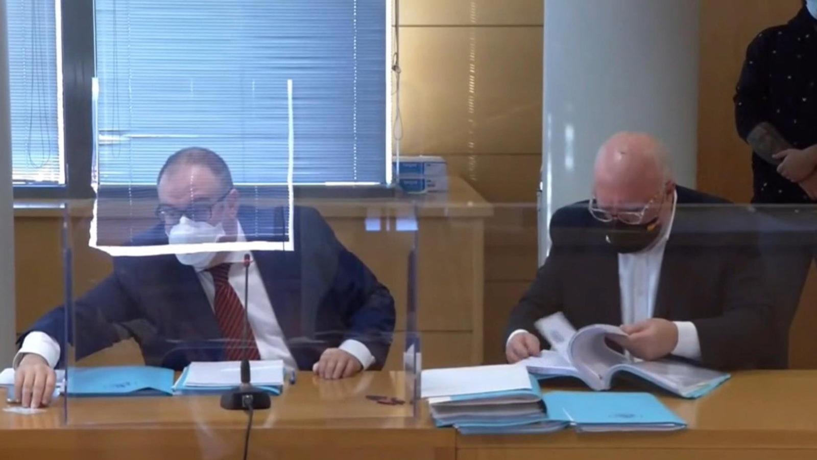 Imatge de l'inici del judici a Villarejo aquest divendres a Madrid
