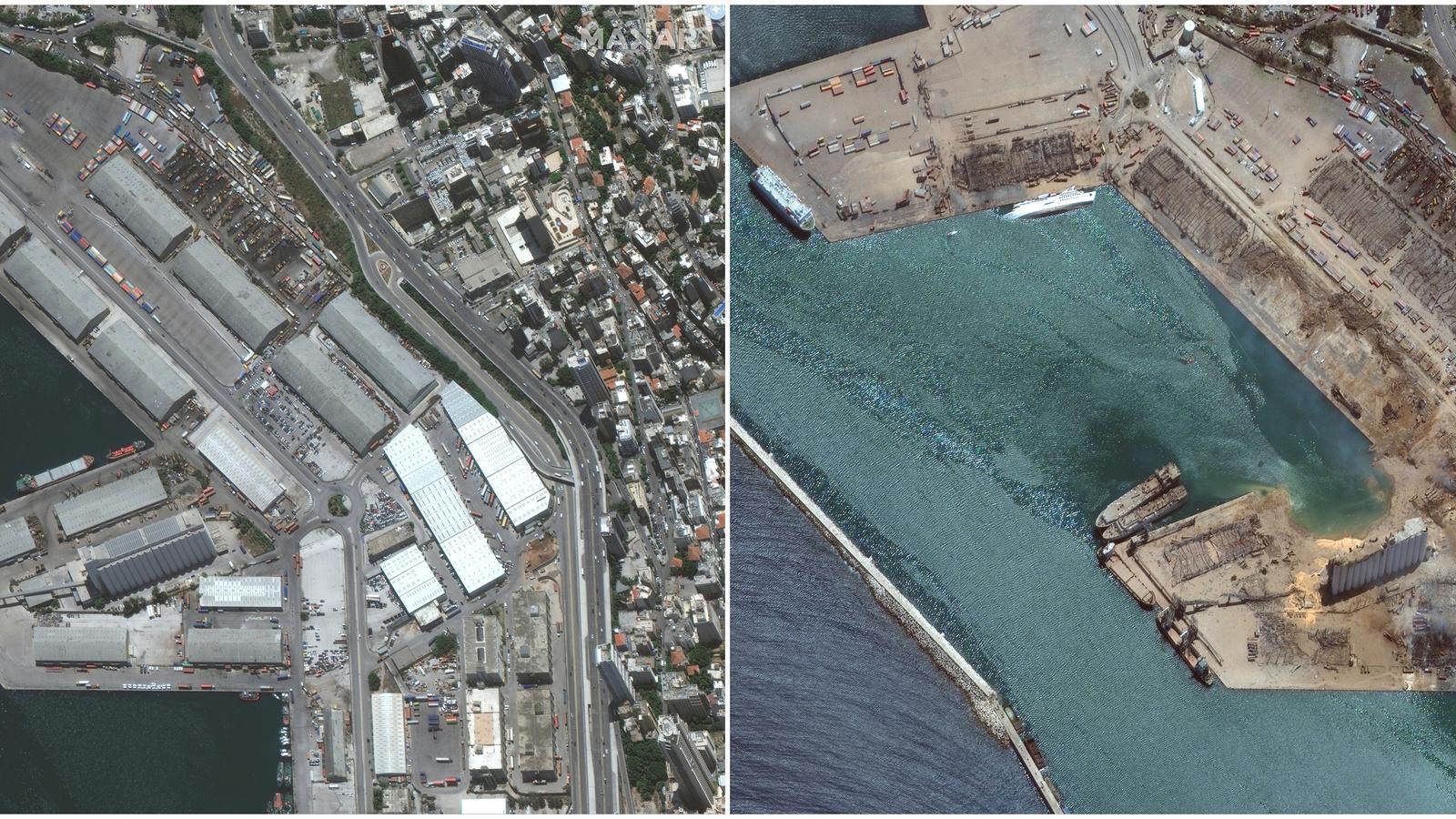 Un vaixell rus va portar a Beirut el nitrat d'amoni que va causar la brutal explosió