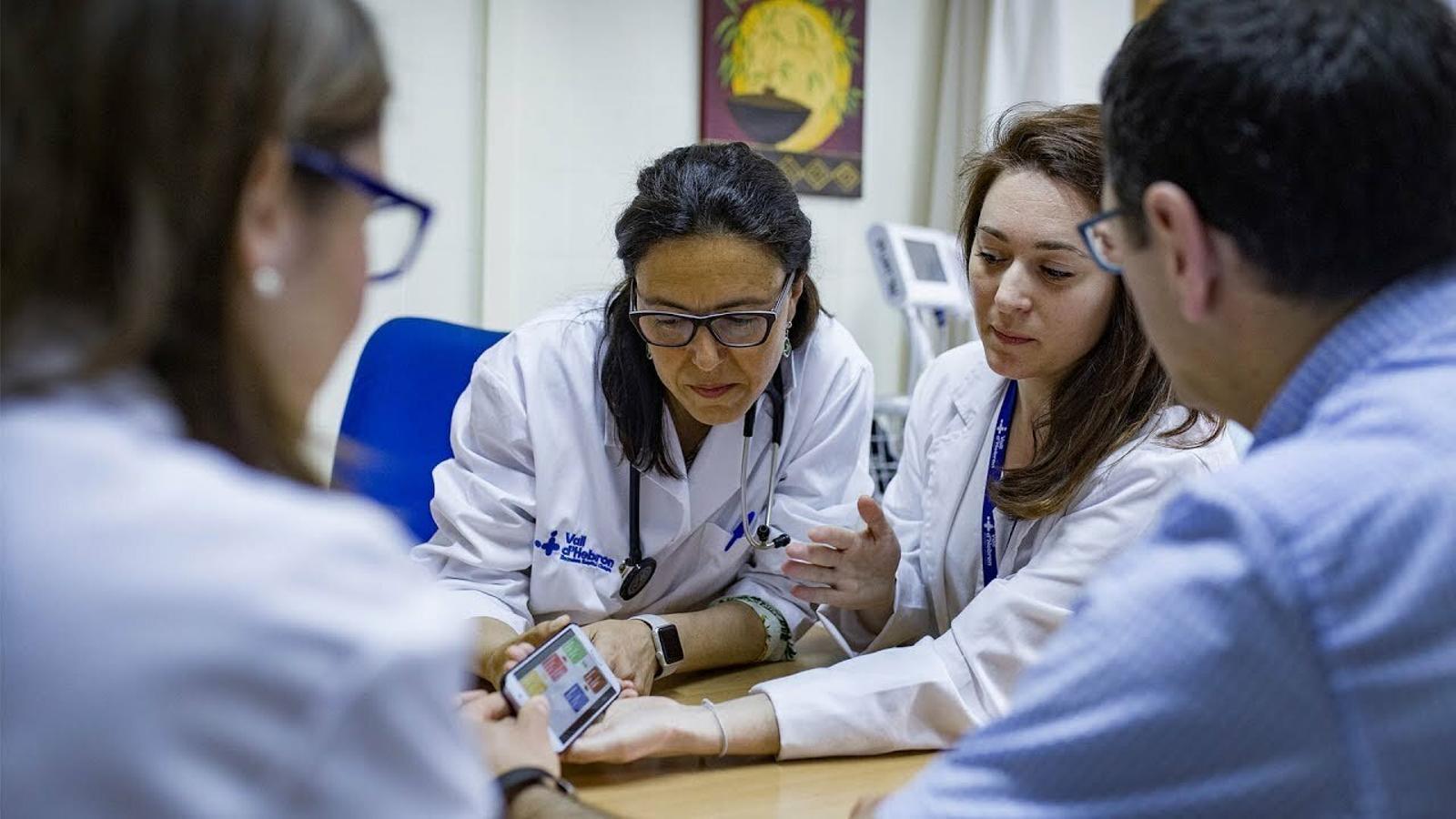 Una apli per comunicar-se amb els pacients de cures pal·liatives