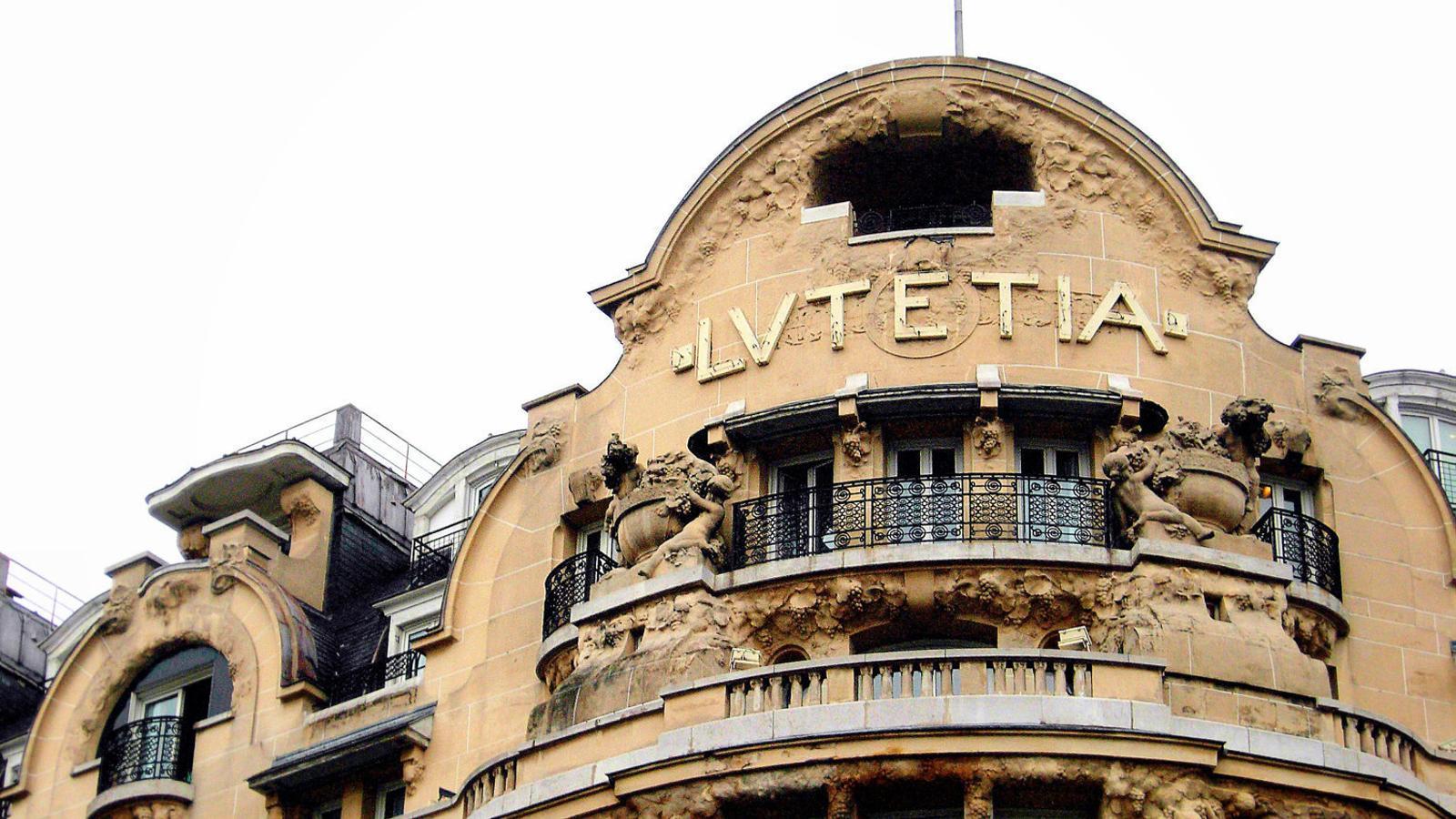 L'Hôtel Lutetia va ser en el seu moment tot un símbol de l'art déco francès.