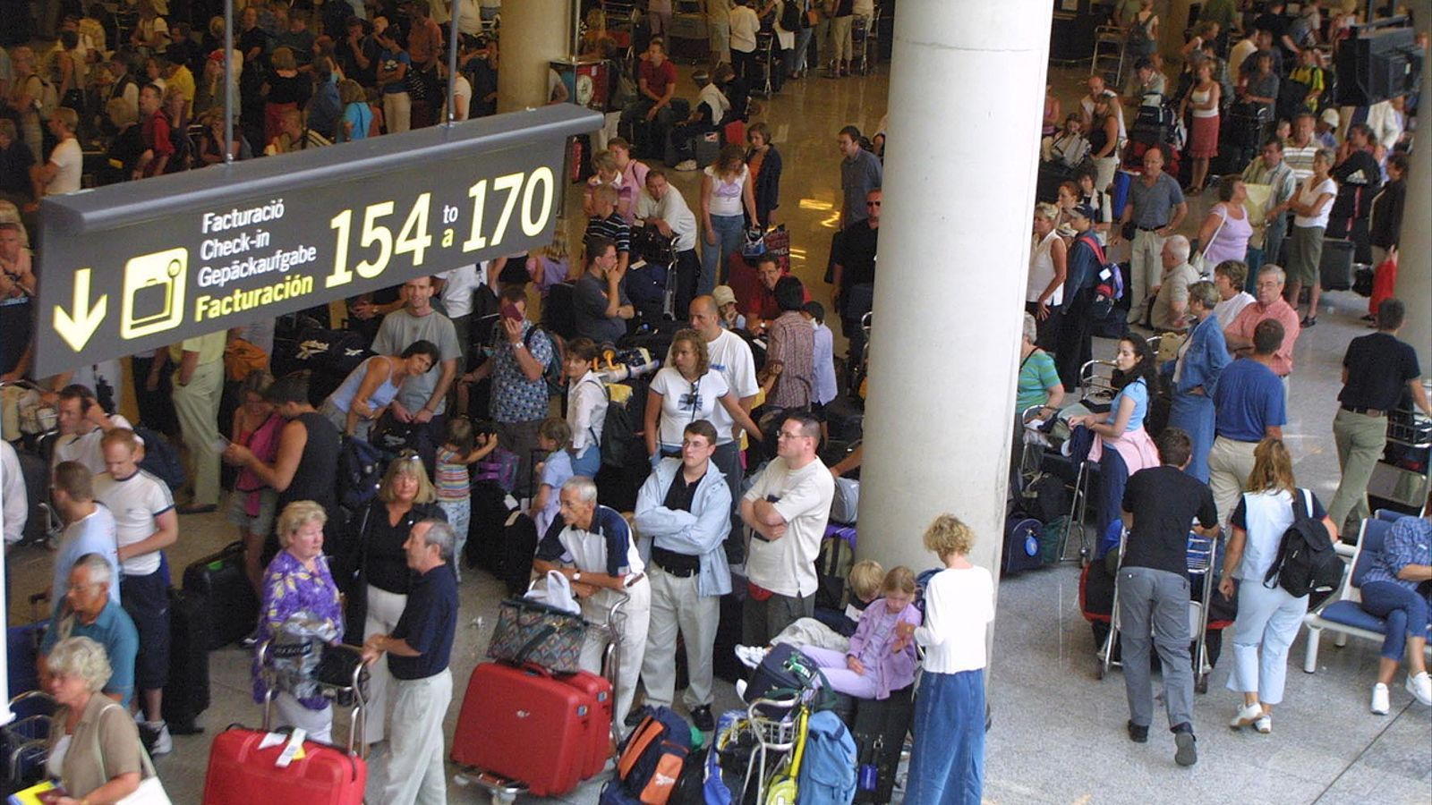 Una imatge de la terminal de Son Sant Joan.