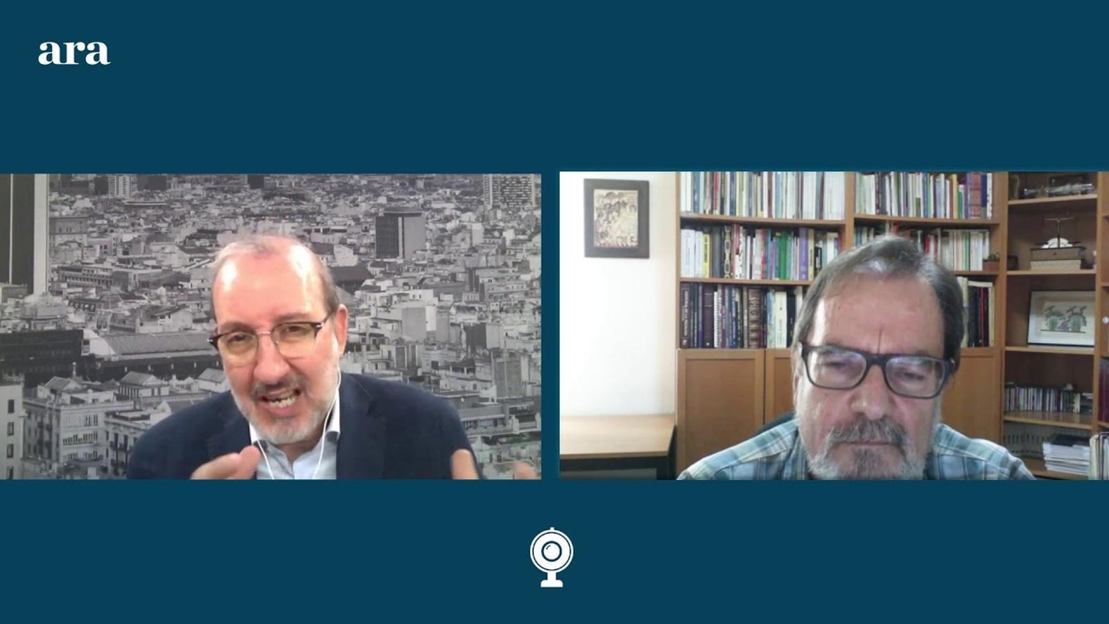 Entrevista d'Antoni Bassas al doctor Joan Caylà