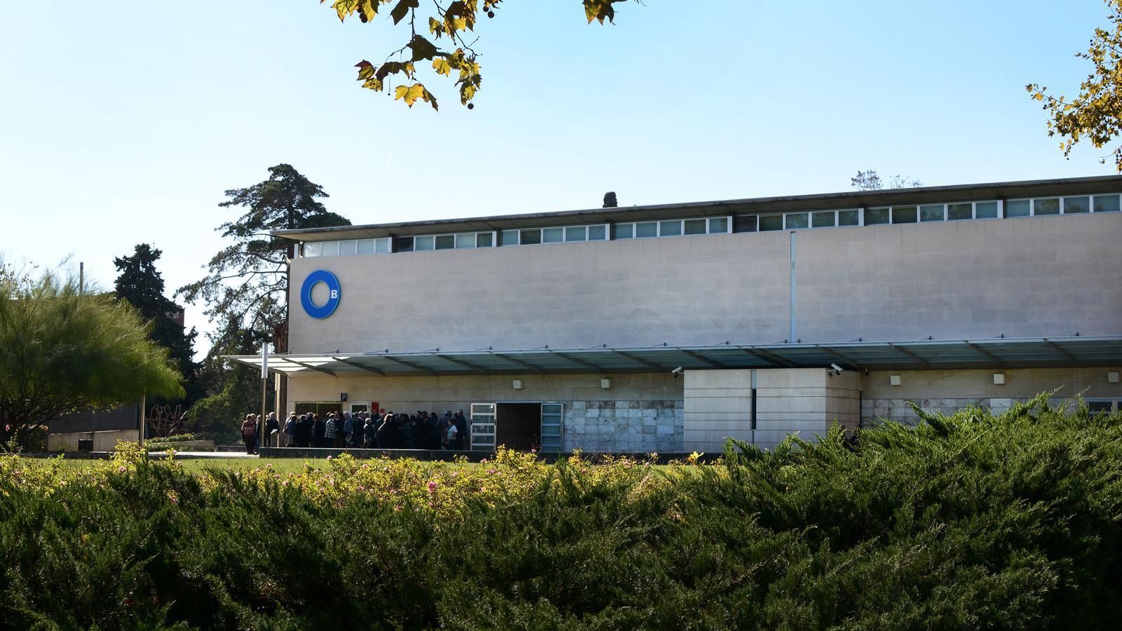 La funerària i tanatori de Les Corts en una imatge d'arxiu