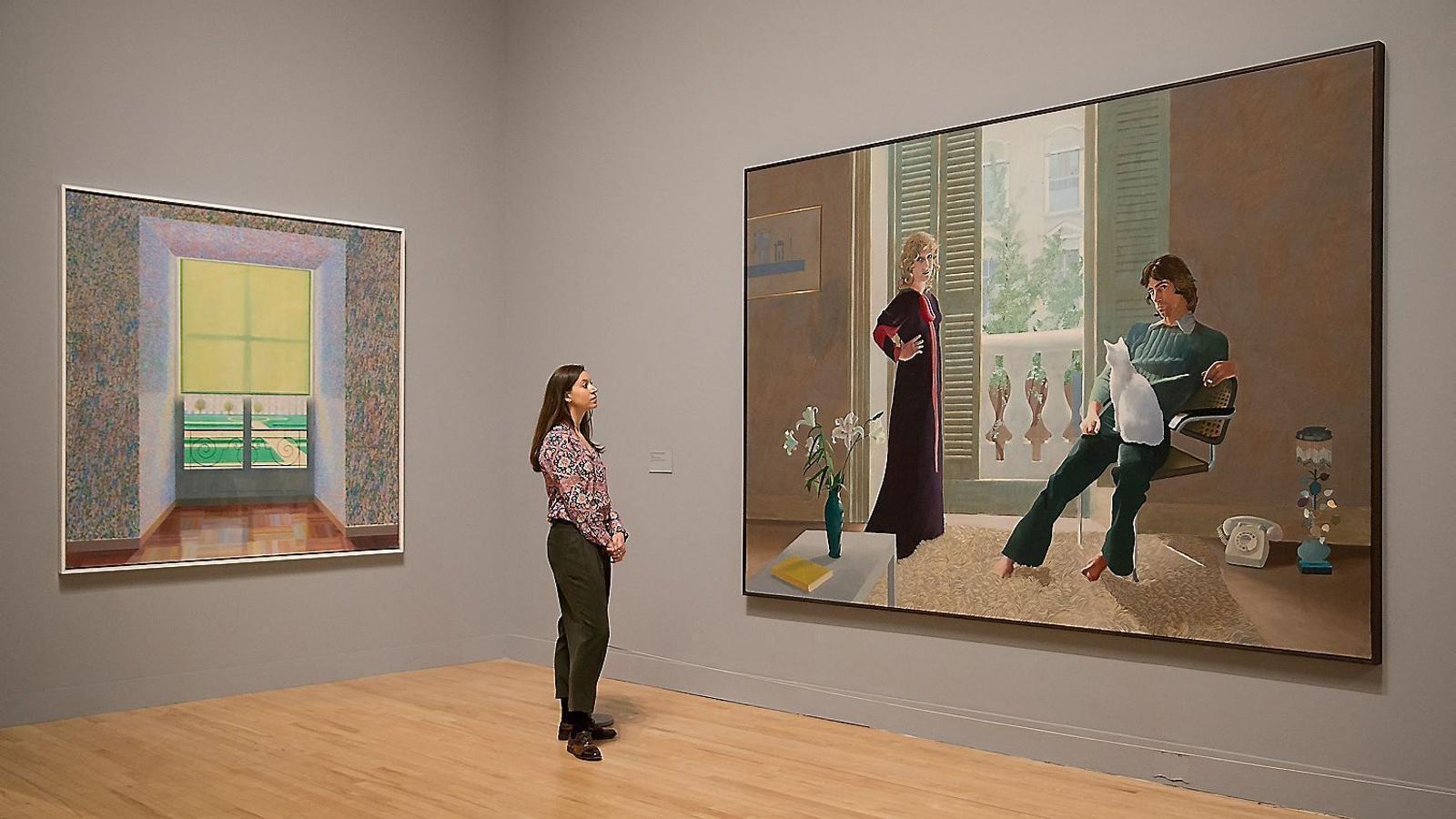 David Hockney, testimoni d'una vida