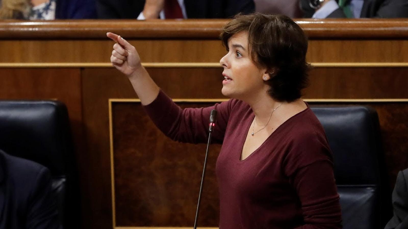 """Soraya a Tardà: """"Per què diuen presos polítics a Sànchez i Cuixart? Igualtat davant la llei"""""""