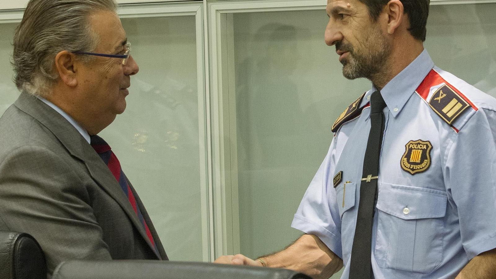 Madrid imposa el relleu del cap dels mossos for Ministre interior