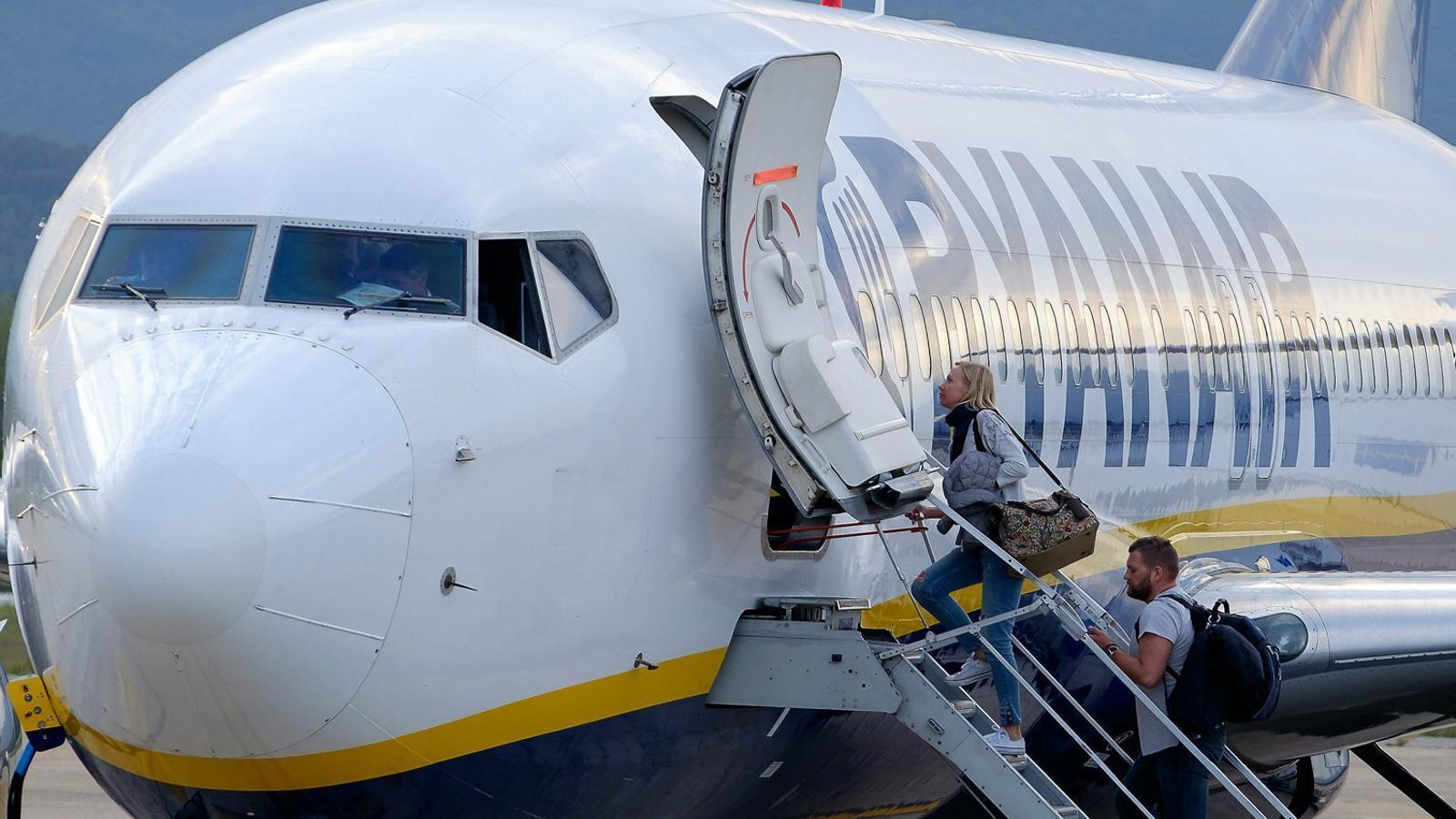 Ryanair s'emporta la meitat del pressupost per promocionar Girona